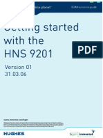 Getting Started With the HNS 9201