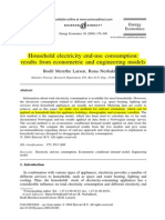 (14)Household Electricity End-use Consumption