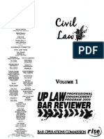 2009 Civil Law Volume 1 Reviewer