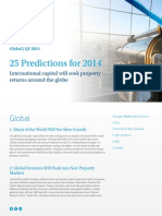 Colliers Prediction Global 2014 RE Pages