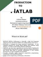 Demo on Matlab
