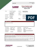 Powerlines Sample Report