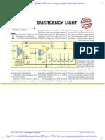 Automatic Emergency Light