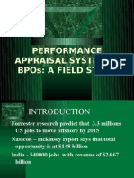 Performance Appraisal System in Bpos