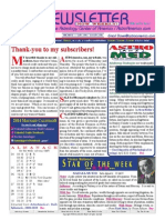 ASTROAMERICA NEWSLETTER DATED FEBRUARY 04, 2014