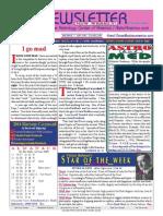 ASTROAMERICA NEWSLETTER DATED FEBRUARY 11, 2014