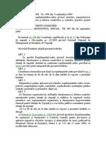 H.G. 1491_2004_Reg-Cadru Priv Structura Organizatorica