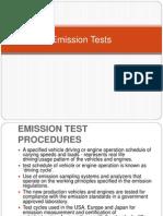 Emission Tests
