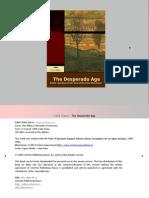 Lidia Vianu –The Desperado Age