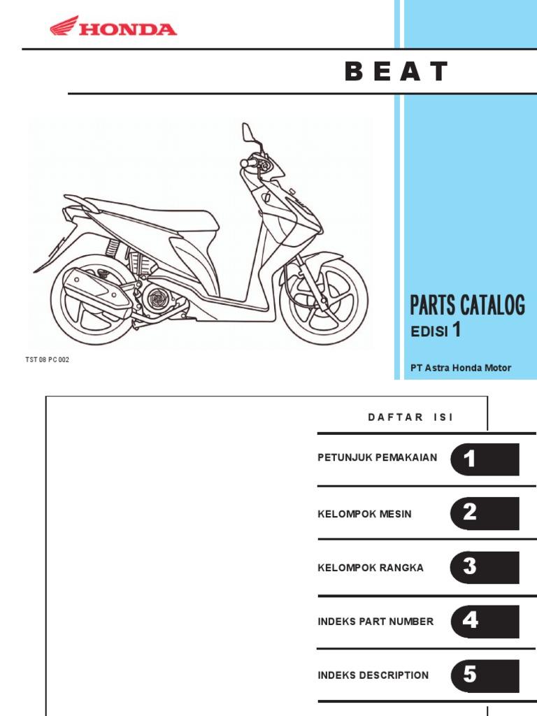 katalog pc beat rh scribd com Sistem Kerja Karburator Karburator Fisika