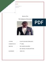 business plan dyson chikolera