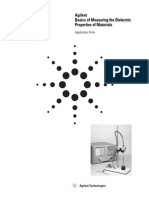 Agilent - Basics of Measuring the Dielectric Properties of Materials