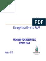 Módulo 4 - Processo Administrativo Disciplinar- PAD