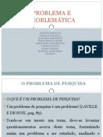 Problema e Problemática (1)