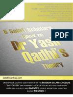 Yasir Qadhi's Theory Refuted