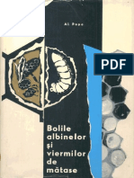 Bolile Albinelor Si Viermilor de Matase - Al.popa - 1965 - 263 Pag