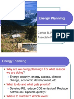Energy Supply Analysis and Projections