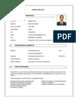CV Esteban Retamal - Ing Ambiental