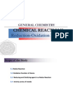 Lecture 5. Chemical Reaction (Part 3. Redox)
