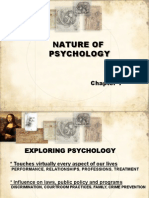 Psychology Chapter 1.1 Nature, History, Modern Perspectives 2014