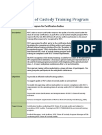 PEFC Chain of Custody Auditor Program - Training Recognition Program