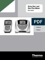 Manual de Usuario Peachimetro Orion 3 Star PH Portable