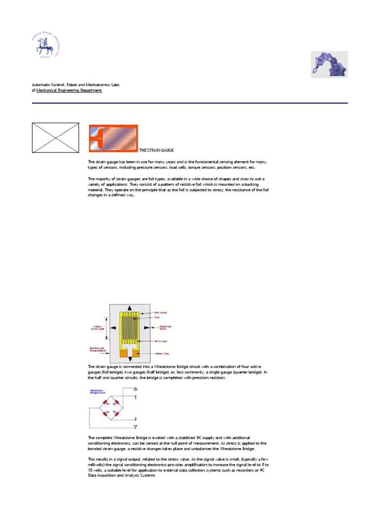Loadcells Quarter Half And Full Bridge Electrical Resistance Wheatstone Wiring Diagram Conductance Deformation Mechanics