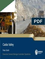 Cadia Valley Present 2012