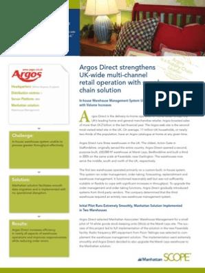 Pleasing Argos Direct Case Study Uk Warehouse Retail Ibusinesslaw Wood Chair Design Ideas Ibusinesslaworg