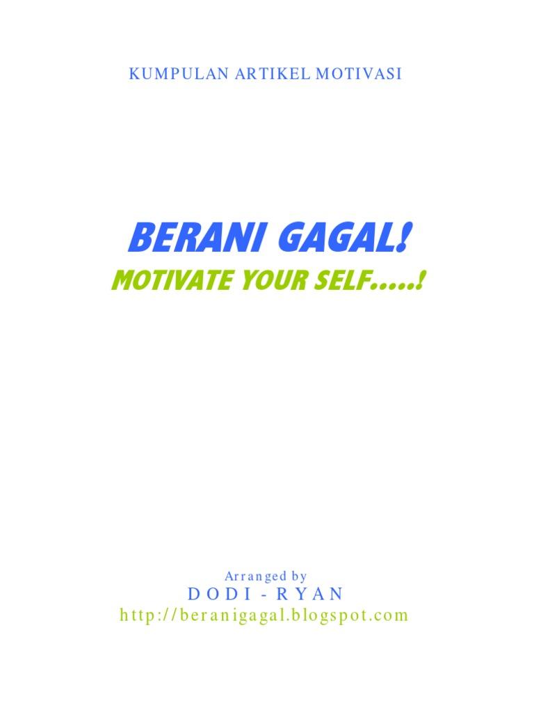 Berani Gagal Motivation