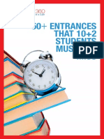 50+ Entrances That 10+2 Students Must Not Miss