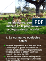 Instalaciones y Equipos Para Pollos Ecologicos