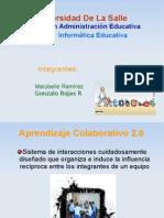Presentación de Aprendizaje Colaborativo 2.0