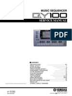 YAMAHA QY100 Service Manual