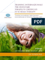 Schema Therapy Training PARMA 2014/2015
