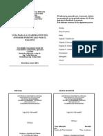 Instructivo Del Informe PASANTIAS