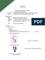 Lesson Plan- sample lesson plan