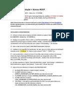 Manual de Instalação + Acesso ROOT