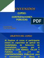CURSO CONTRATACIONES 2013