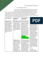 assessment plan lesson 4