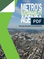 Metro's Sustainability Agenda