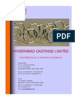 Centrifugal Castings Brochure