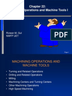 Chapter 22-Machining Operations  I.ppt