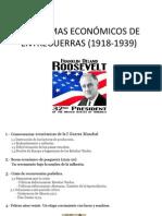 Guión Problemas Económicos de Entreguerras (1918-1939)