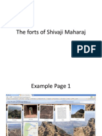 The Forts of Shivaji Maharaj
