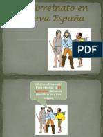 Presentación2 Virreinato de Nueva España