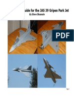 JAS 39 Park Jet Construction Manual