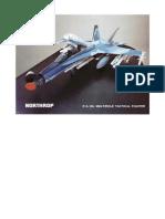 Northrop F-18L Mock-up