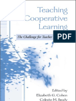 Teaching Cooperative Learning the Challenge for Teacher Education