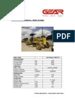 MotorGraderL&TKomatsuGD511A 1 TechnicalSpecifications[1]